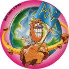 Pog n°5 - POG Drapeau - Energizer - World Pog Federation (WPF)