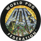 Pog n°24 - Pogmountain - Série n°1 - World Pog Federation (WPF)