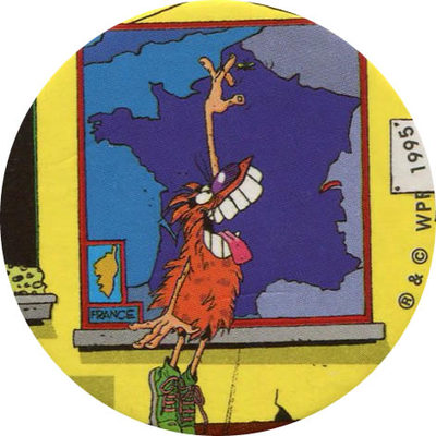 Pog n° - Color & Co - Lefranc & Bourgeois - World Pog Federation (WPF)