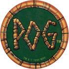 Pog n°40 - Bamboo Logo - Série n°1 - World Pog Federation (WPF)