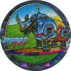 Pog n°41 - Robo Rhino - Série n°1 - World Pog Federation (WPF)
