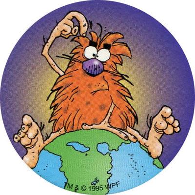 Pog n° - Pogman Discovers America - World Pog Federation (WPF)