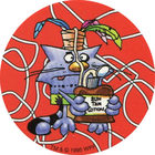 Pog n°8 - Pogman Discovers America - World Pog Federation (WPF)