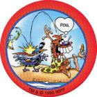 Pog n°12 - Pogman Discovers America - World Pog Federation (WPF)