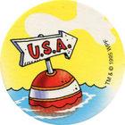 Pog n°13 - Pogman Discovers America - World Pog Federation (WPF)