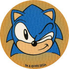 Pog n°1 - Sonic the Hedgehog - Wackers