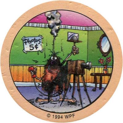 Pog n° - Série n°1 - World Pog Federation (WPF)