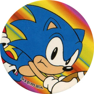 Pog n° - Sonic the Hedgehog - Wackers