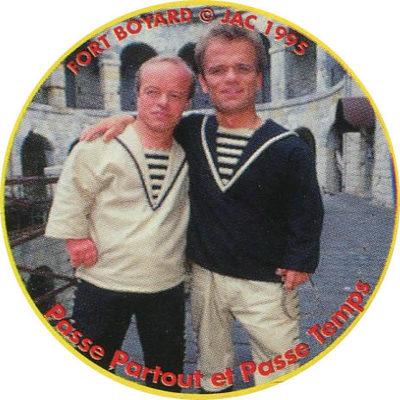 Pog n° - Fort Boyard - Claps Le Vrai !