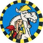 Pog n°13 - Lucky Luke et Jolly Jumper - Lucky Luke - Petit Brun Extra - World Pog Federation (WPF)