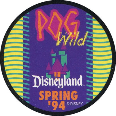 Pog n° - Goin'POG Wild at Disneyland - World Pog Federation (WPF)