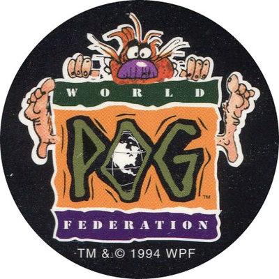 Pog n° - Goin'POG Wild at Disneyland - World Pog Federation (WPF)