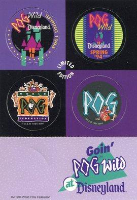 Goin'POG Wild at Disneyland - Slammer - World Pog Federation