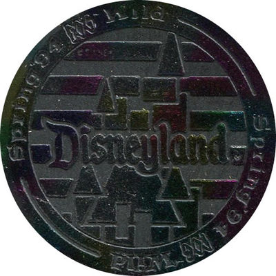 Pog n° - Goin'POG Wild at Disneyland - Slammer - World Pog Federation (WPF)