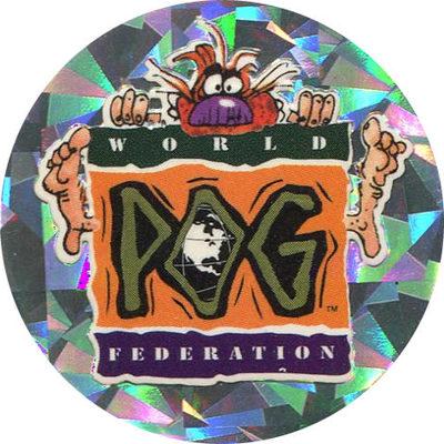 Pog n° - Series 1 - World Pog Federation (WPF)