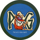 Pog n°9 - Pogman IV - Series 1 - World Pog Federation (WPF)