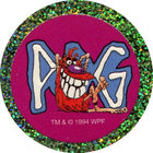 Pog n°17 - Pogman IX - Series 1 - World Pog Federation (WPF)