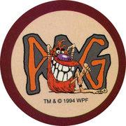 Pog n°21 - Pogman X - Series 1 - World Pog Federation (WPF)