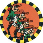 Pog n°14 - Les Dalton 2 - Lucky Luke - Petit Brun Extra - World Pog Federation (WPF)
