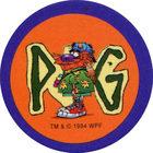 Pog n°1 - Walkabout - Series 2 - World Pog Federation (WPF)