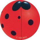 Pog n°51 - Lady Bug - Series 2 - World Pog Federation (WPF)