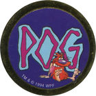 Pog n°76 - Pogman I - Série n°1 - World Pog Federation (WPF)