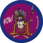 Pog n°61 - HOW! - Series 2 - World Pog Federation (WPF)