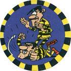 Pog n°15 - Les Dalton 3 - Lucky Luke - Petit Brun Extra - World Pog Federation (WPF)