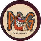 Pog n°80 - Pogman II - Série n°1 - World Pog Federation (WPF)