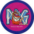 Pog n°84 - Pogman IV - Série n°1 - World Pog Federation (WPF)