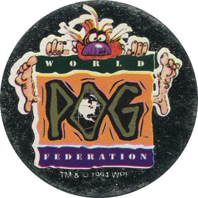 Pog n° - Série n°1 - World Pog Federation (WPF)