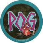 Pog n°100 - Pogman X - Série n°1 - World Pog Federation (WPF)