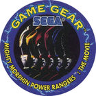 Pog n°5 - Mighty Morphin Power Rangers : The movie - SEGA - World Pog Federation (WPF)