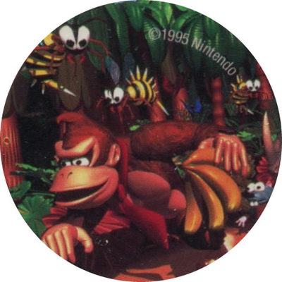 Pog n° - Donkey Kong Country - POG Pitchin'Game - World Pog Federation (WPF)