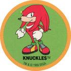 Pog n°13 - Cookie Crisp - Sonic The Hedgehog - Divers