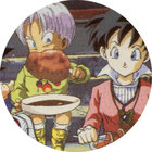 Pog n°73 - Trunks & Videl - Dragon Ball Z - Caps Série 2 - Panini