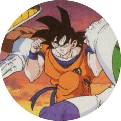 Pog n° - Dragon Ball Z - Caps Série 2 - Panini
