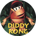 Pog n°3 - Diddy Kong - Donkey Kong Country - Nintendo Power - Divers