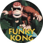 Pog n°4 - Funky Kong - Donkey Kong Country - Nintendo Power - Divers