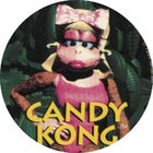 Pog n°6 - Candy Kong - Donkey Kong Country - Nintendo Power - Divers