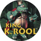 Pog n°10 - King K. Rool - Donkey Kong Country - Nintendo Power - Divers
