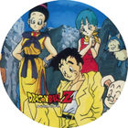 Pog n°30 - Chichi, Yamcha, Bulma & Oolong - Dragon Ball Z - Power - Divers