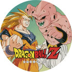 Pog n°46 - Sangoku & Boo - Dragon Ball Z - Power - Divers