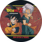 Pog n°48 - Sangoten & Trunks - Dragon Ball Z - Power - Divers