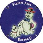 Pog n°10 - Fantom papa & Borzongi - Kinder - Fantomini - Divers