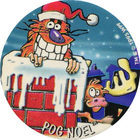 Pog n°42 - POG NOEL - Série n°2 - World Pog Federation (WPF)