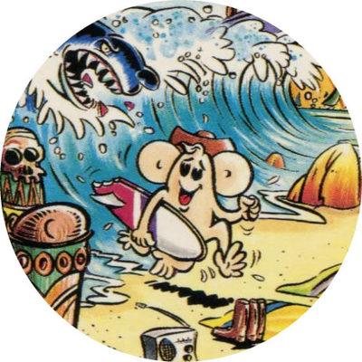 Pog n° - Les voyages de l'oncle Phil - Tip Top's - Divers