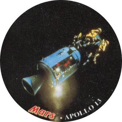 Pog n° - Apollo 13 - Mars - Divers