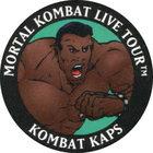 Pog n°2 - Jax - Mortal Kombat Live Tour - Divers