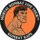 Pog n°6 - Johnny Cage - Mortal Kombat Live Tour - Divers